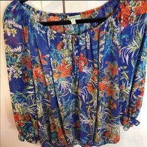 Pleione Boho Style Tunic, Size XL